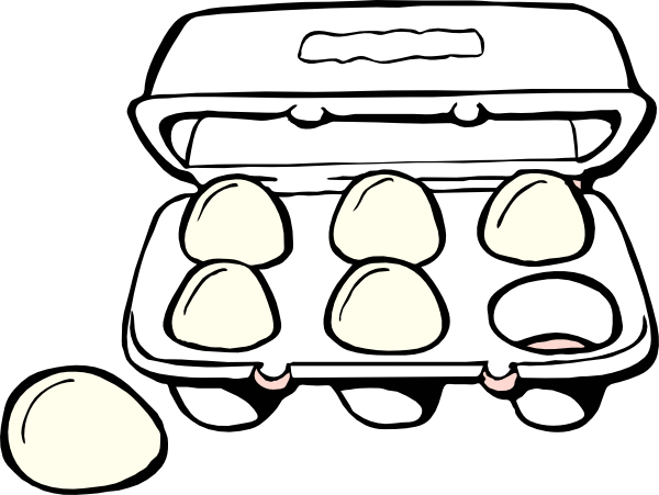 sardine-clipart-egg-carton-clipart-black-and-white-4